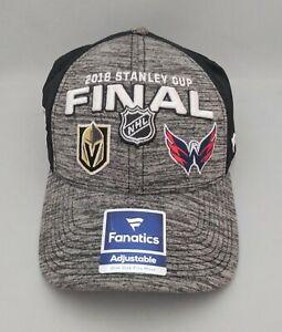 NHL Las Vegas Golden Knights Washington Capitals 2018 Stanley Cup Final Cap Hat