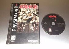Resident Evil Longbox ☆☆ Disc in Case, Tested ☆☆ - PS1 Playstation 1 Long Box