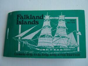FALKLANDS ISLANDS SHIPS GREEN BOOKLET MNH