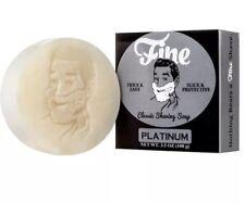 Fine Accoutrements Classic Shaving Soap, Platinum, 3.5 Oz