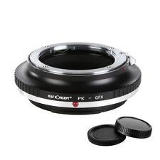 K&f Concept адаптер для Pentax K Mount объектив для Fuji Gfx среднеформатной камеры
