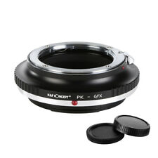 K&F concepto Adaptador para Pentax K lente para Fuji GFX de Montaje Cámara De Medio Formato