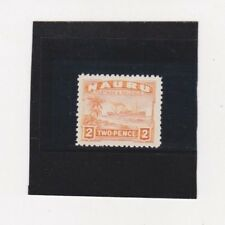 1924 Nauru 2d Ships Orange SG 29 MLH