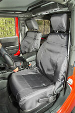 Ballistic Seat Cover Set Front Black 2011-2016 Jeep Wrangler JK/JKU 13216.12