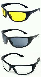Global Vision Hercules 6 Sunglasses Ballistic Glasses 1 Yellow 1 Clear 1 Tinted