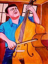 EDGAR MEYER PRINT poster bass music for two bluegrass heartland cd appalachian