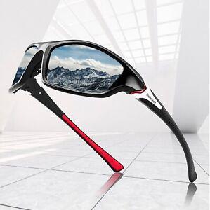 Polarized Sunglasses Men Women Square Cycling Sport Driving Fishing UV400 UK