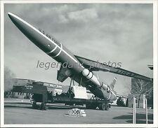 SNARK ICBM Hill Air Force Base Utah 1959 Original News Service Photo