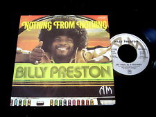 """BILLY PRESTON/NOTHING FROM NOTHING/SOUL/FRENCH SP 7"""""""