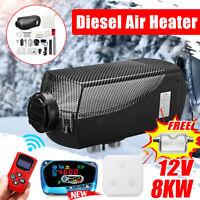 12V 8KW Diesel Luft Heizung Fernbedienung Thermostat Wohnmobil Wohnwagen I