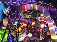New METALLICA PINBALL machine metal sign Mod