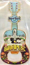 Hard Rock Cafe Rock Shop Budapest Airport Guitar Bottle Opener Magnet 2017 *NEW*