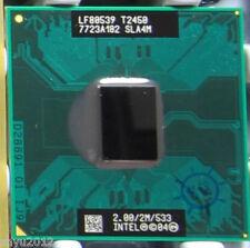 SLA4M Intel Core Duo T2450 Dual-Core CPU Processor 2 GHz 533 MHz Test ok