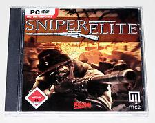 Sniper Elite-PC jeu-ETAT NEUF