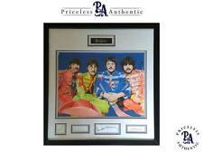MUST SEE Beatles Signed Original Art Sgt Peppers Lennon McCartney Harrison Starr