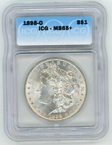 1898-O $1 Morgan Silver Dollar ICG MS 65+