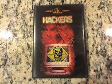 HACKERS OOP DVD 1995 ANGELINA JOLIE, JONNY LEE MILLER CYBERPUNK COMPUTER ACTION!