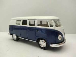 Kinsmart Classical Bus 1962 Blue 1:32 - Miniature -  Auto giocattolo - DieCast
