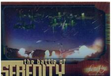 Firefly The TV Series The Battle For Serenity Chase Card B6