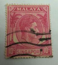 Willie: Malaya 10cent singapore