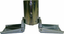 "Heavy Duty Roof Mount for Masts up to 2-3/8"" OD - EZ 19B Antenna Mast Peak Mount"