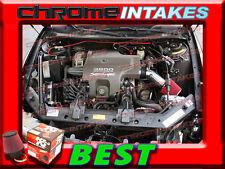 K&N+BLACK RED 00 01 02-05/2000-2005 PONTIAC BONNEVILLE 3.8L V6 AIR INTAKE KIT