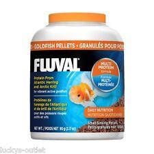 Fluval Goldfish Sinking Pellets From Atlantic Herring Norwegian Krill 3.17 oz.