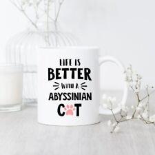 Abyssinian Cat Mug Abyssinian Cat Mug Abyssinian Cat Gift Abyssinian Lover Mug