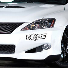 1pc JDM Dope Custom Car Truck Window Drift Vinyl Decal Sticker 21.6 x 7.62cm