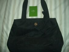 Authentic 100% Kate Spade new york Nylon Tote style hand Bag Black