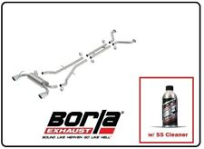 Borla Cat-Back Exhaust S-Type w/SS Cleaner for 09-19 Nissan 370Z 3.7L # 140313