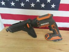 RIDGID R86630B 18V Drywall Screwdriver with Collated Attachment 850