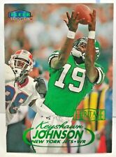Keyshawn Johnson 1998 Fleer Tradition Heritage Collection #'d 101/125 - NY JETS