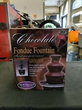 Nostalgia Electrics Chocolate Fondue Fountian