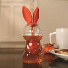 Hunny Bunny Honey Pot Dispenser Novelty Jar Condiment Kitchen Food Tea Accessory