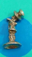 T8 Stand Up Phone Sterling Silver Vintage Bracelet Charm