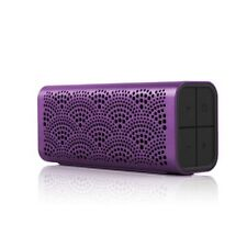 Braven BLUXABP Lux Bluetooth IPX5 portable Loudspeaker with Powerbank Box,Purple