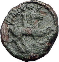Philip II 359BC Olympic Games HORSE Race WIN Macedonia Ancient Greek Coin i62007