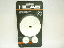 NEW HEAD XTREME SOFT 10 + 2 TENNIS RACQUET OVERGRIP WHITE PICKLEBALL GRIP SQUASH