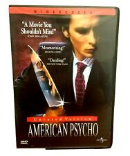 American Psycho Unrated Version Christian Bale Reese Witherspoon Willem Dafoe