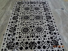 suzani Embroidered Wall Hanging Tribal Tapestry Table Cover Ethnic Table Cloth