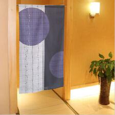 Purple Circle Printed Japanese NOREN Door Curtain Room Doorway Divider Tapestry