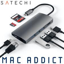 Satechi USB Type-C Multi-Port Adapter w/ Ethernet HDMI USB-C  V2