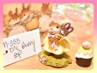 ❤️Wee Forest Folk M-388 The Bunny Pop Easter Rabbit Mouse Yellow Retired WFF❤️