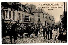CPA 77 - LAGNY THORIGNY (Seine et Marne) - 12. Le ... Hussards acclamé et fleuri