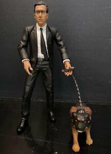 """Mr. Orange 7"""" & Rottweiler Dog Reservoir Dogs Mezco Action Figures 2001 LOT"""