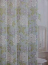 "Laura Ashley Isadora 100% Cotton Fabric Shower Curtain 72"" x 72"" NIP"