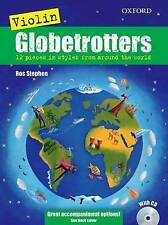 Violin Globetrotters + CD (Globetrotters for strings) by Stephen, Ros, NEW Book,