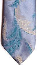 """Campus Men's Poly/Silk Tie 57.5"""" X 3.5"""" Multi-Color Floral Abstract"""
