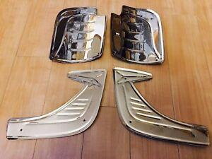 VW BUG Stone Guard Rear Front Fender 4 pieces Aluminum Set Kit BEETLE 4pcs wing